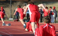 Track team races in annual Red and White meet