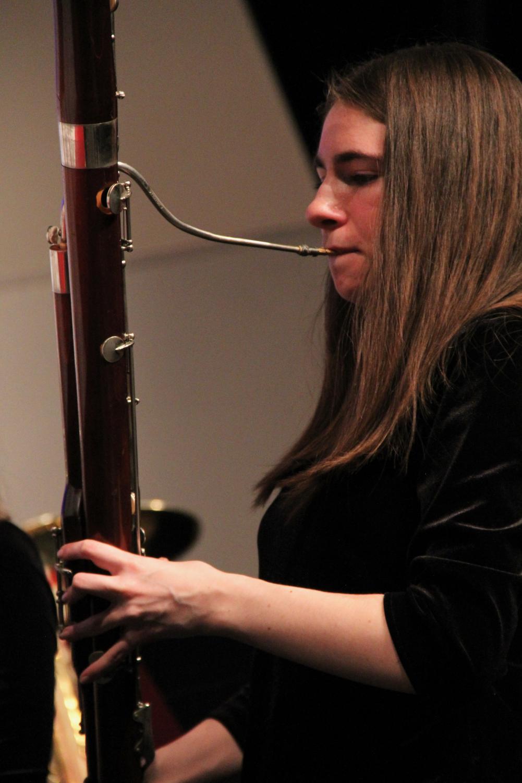 Helena+Weber%2C+freshman%2C+plays+her+bassoon.