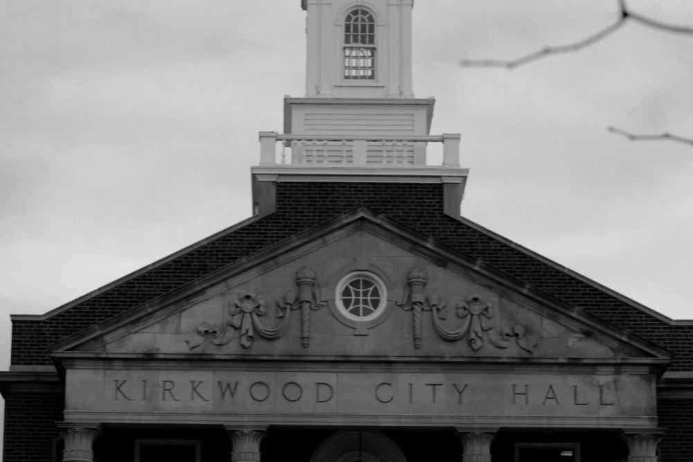 The+Kirkwood+City+Hall+sits+across+the+plaza.+