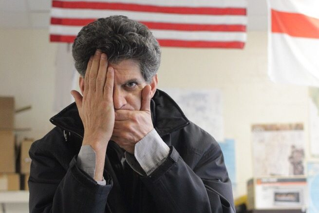 Behnam refers to his classes as organized chaos and borderline anarchy, with him being the students supreme leader.