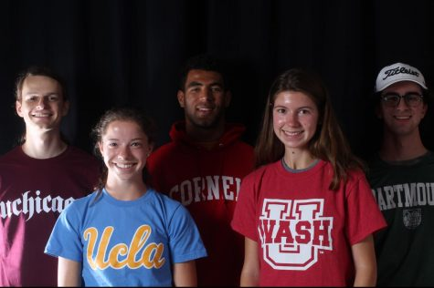"""Congratulations""—Five KHS seniors who got into elite universities"