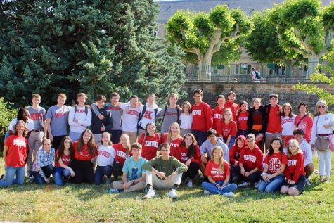 The French American Exchange Program (FRAME) pairs KHS students with students from Lyon, France.
