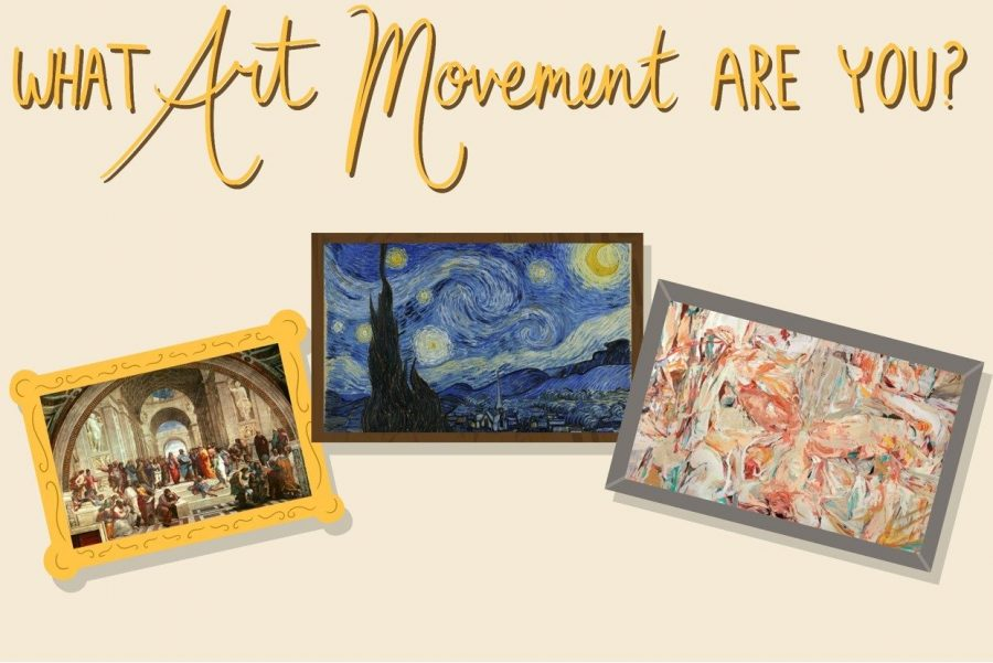 Do you have a passion for art? Ever wanted to know what movement of art you are most like? Take this quiz to find out.