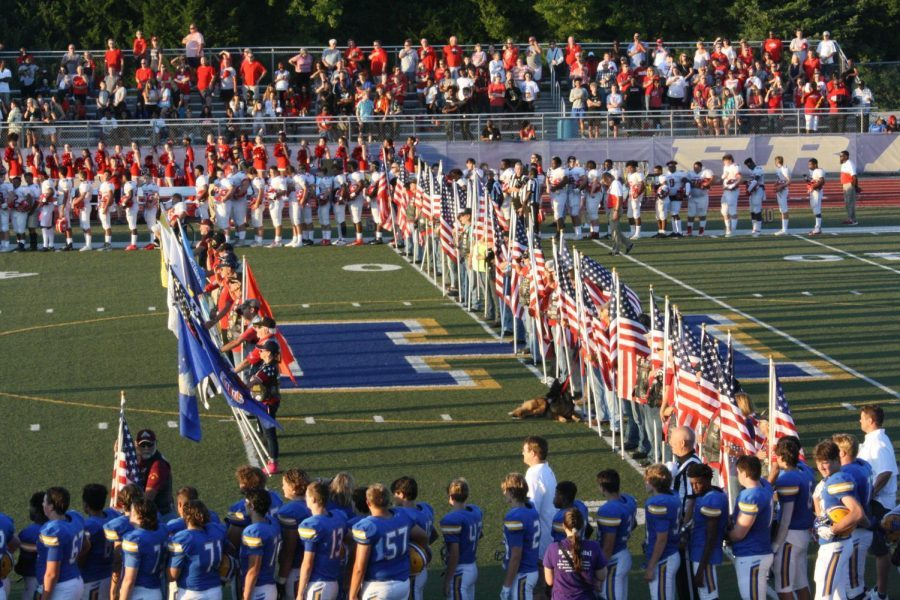 KHS varsity football fell to the Francis Howell Vikings by a score of 24-14 on Friday, Sept. 6