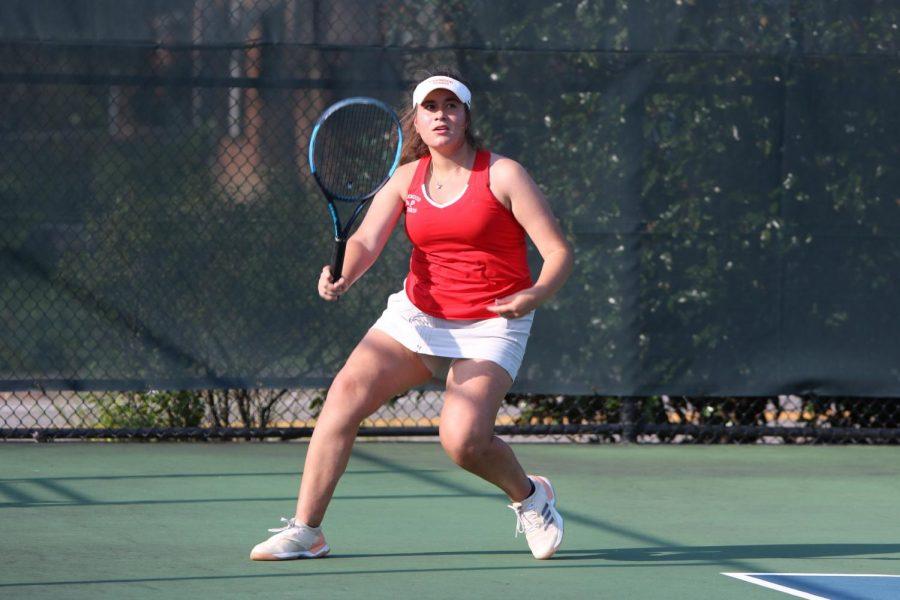 Photo Gallery: varsity girls' tennis vs. Lafayette, Sept. 9