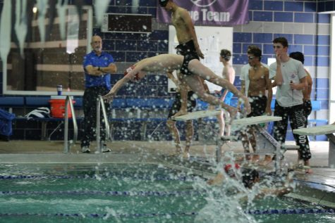 Photo Gallery: Kirkwood boys' varsity swim vs. Ladue