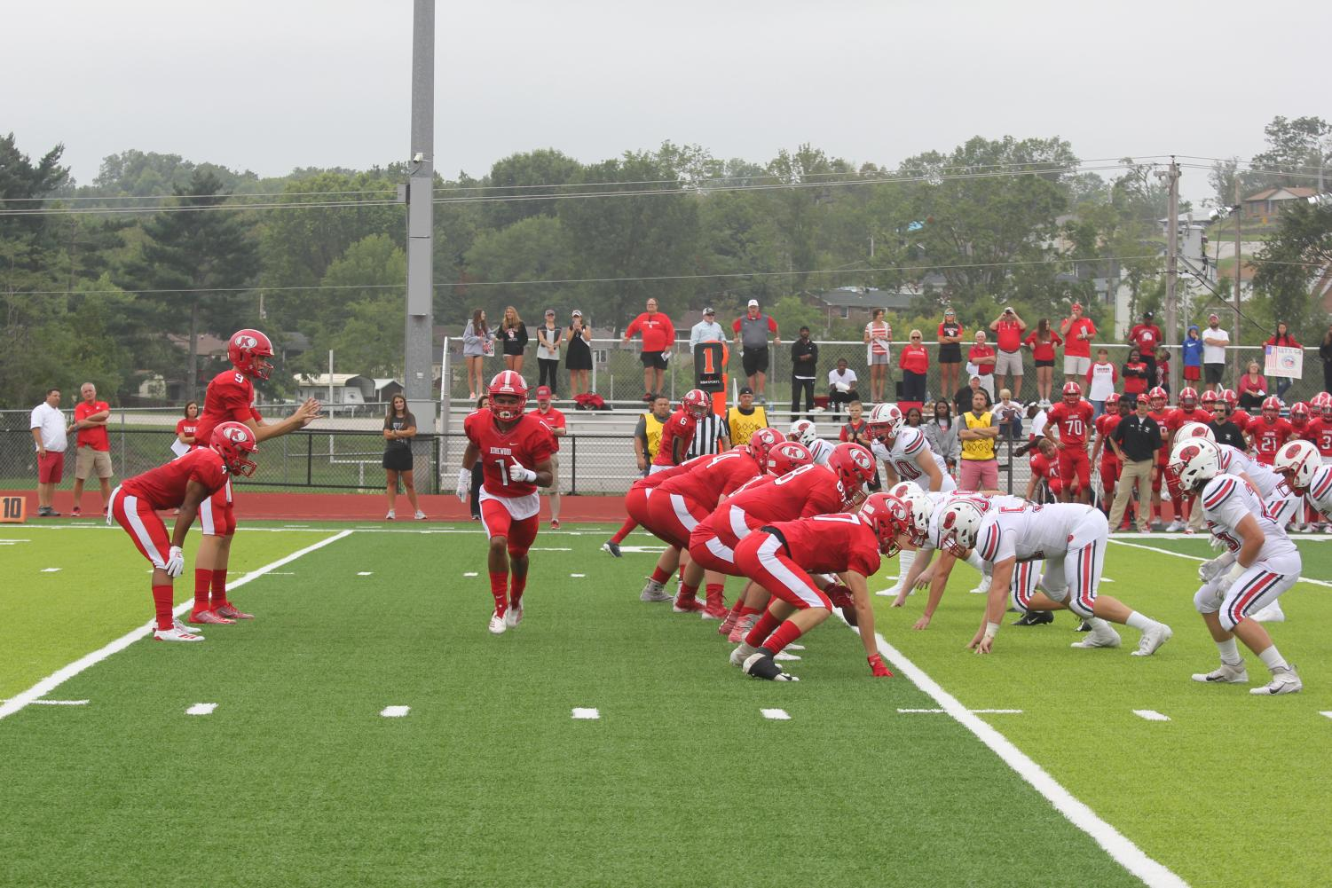 Junior+wide+receiver+Cole+Johnson+%281%29+cuts+across+the+field+in+motion+as+the+Pioneers+prepare+for+the+snap.