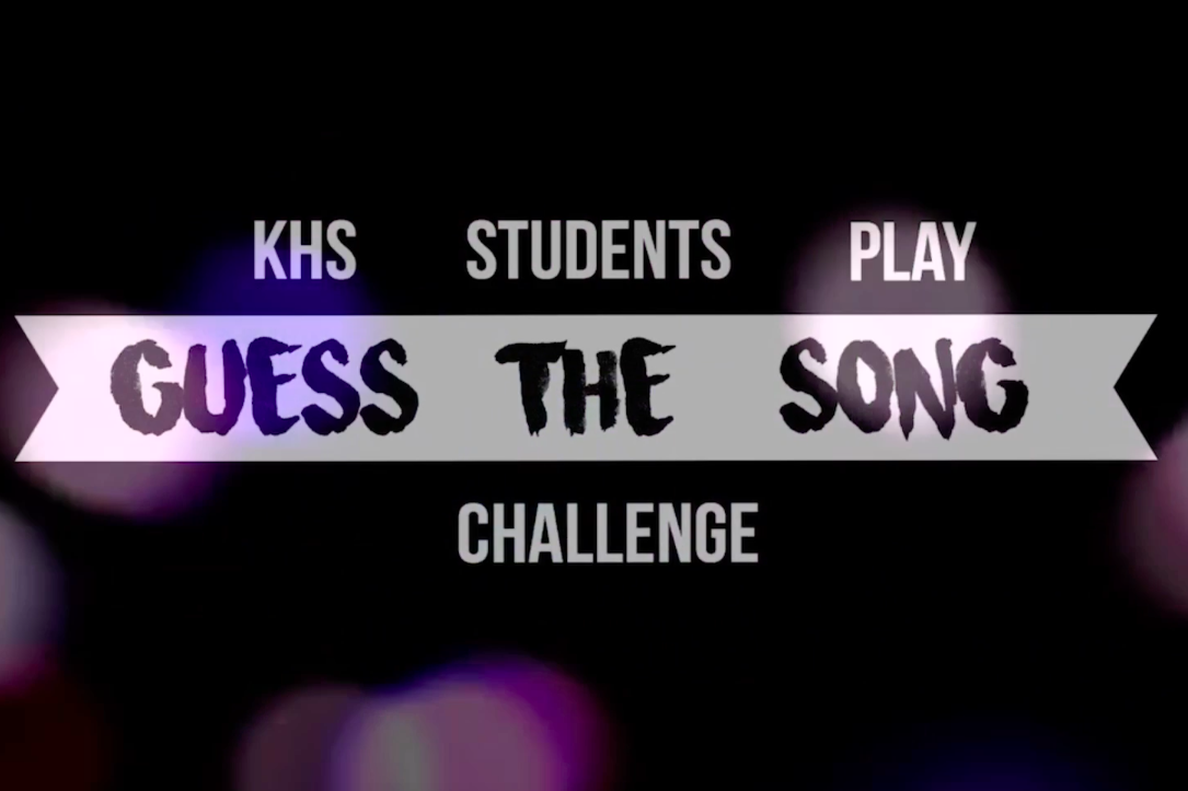 KHS students play guess the song challenge