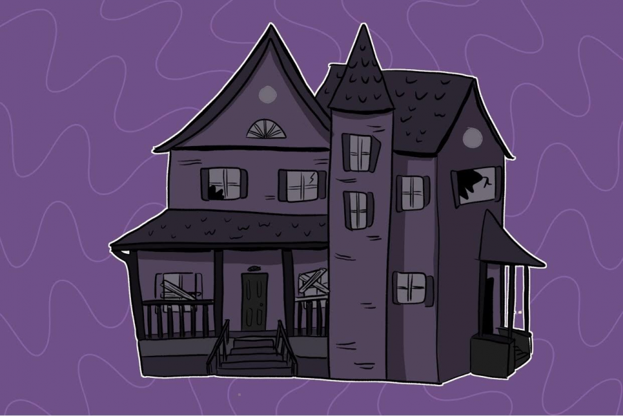 One way to kick off spooky season is visiting a haunted house with some friends.