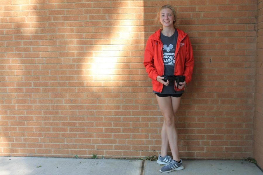 """[Irish dance] definitely strengthens my nerves and helps calm my brain down,"" Morgan Hooker, freshman, said. ""I'm stressed with school too, so I can use some of the techniques that I use at dance with school. Without Irish dance I don't think I'd be as mentally strong."""