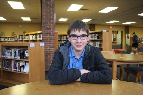 Ben Voller, senior, has been involved in Kirkwood's gifted program since fifth grade.