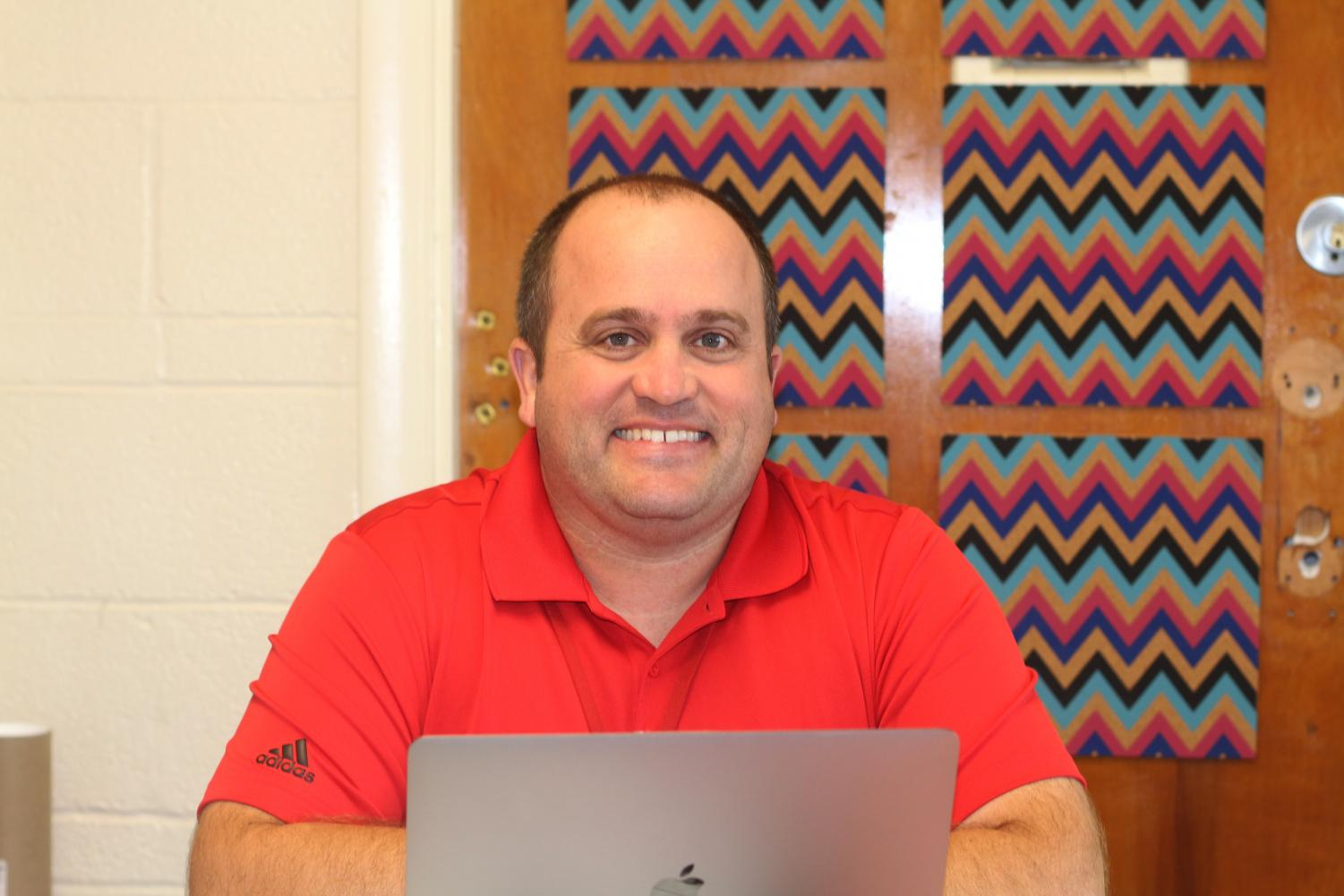 Turley taught at KHS for six years before moving to Clayton High School for two years.