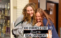KHS students and staff react to social experiments