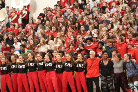 Photo Gallery: pep rally Nov. 26
