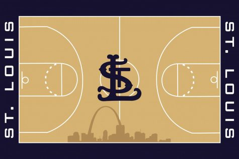 St. Louis supported three major sports teams (Cardinals, Blues and Rams) from 1995-2015. With the Rams' move to Los Angeles in 2016 and the other two teams finding success recently, now is the time to give St. Louis an NBA team. Art by Hayden Davidson.