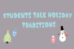 KHS holiday traditions