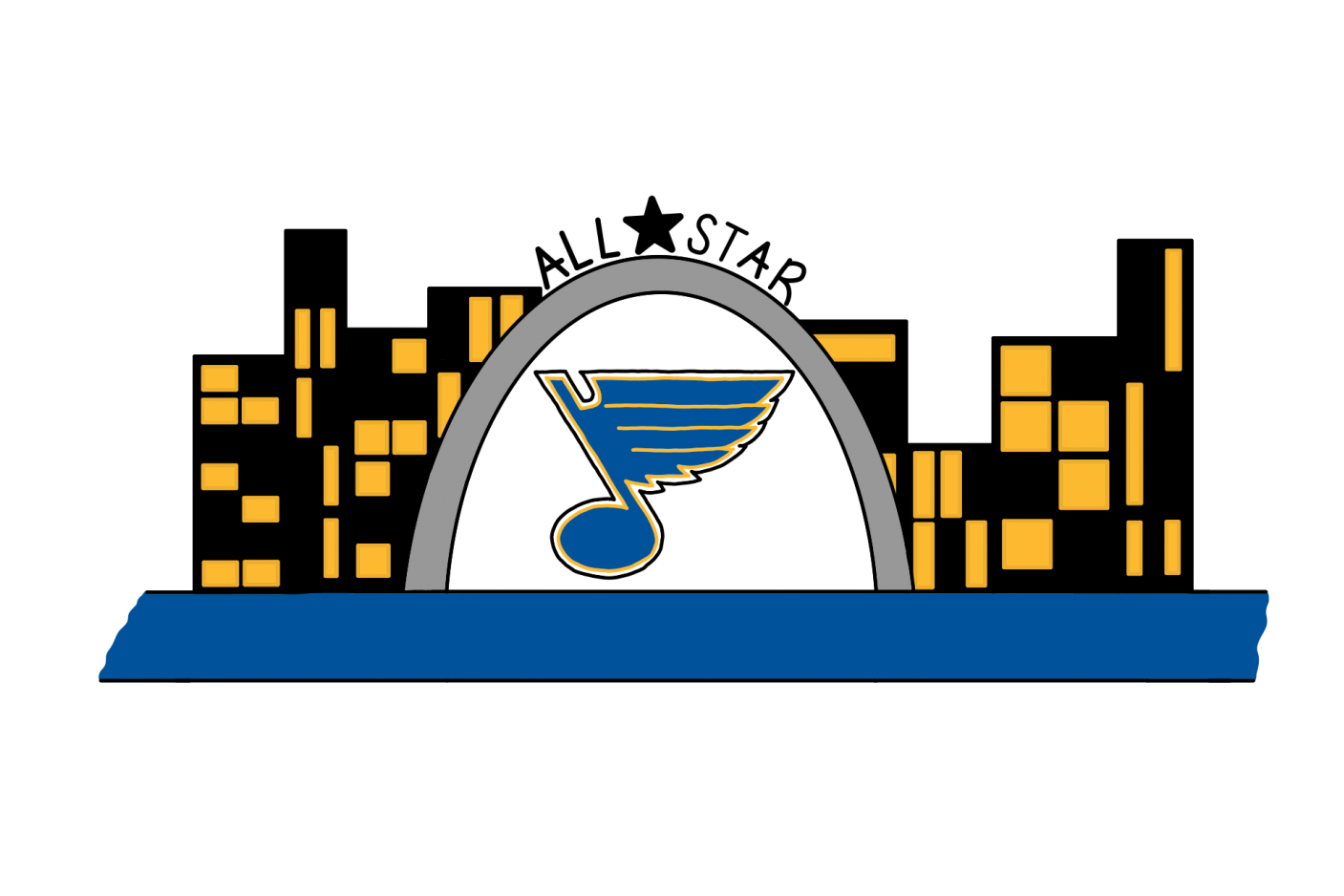The NHL is bringing their All-Star game to the Enterprise Center in St. Louis