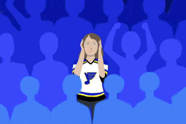 During+the+2006+Stanley+Cup+finals%2C+each+crowd+member+experienced+8100%25+of+their+%E2%80%9Cdaily+allowable+noise+dose%E2%80%9D.+
