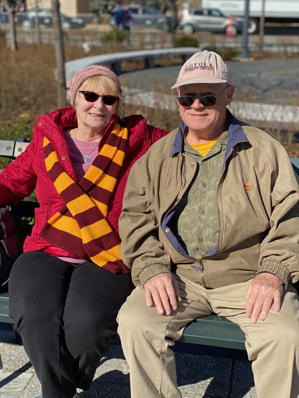 William and Susan Crawford – Spectators