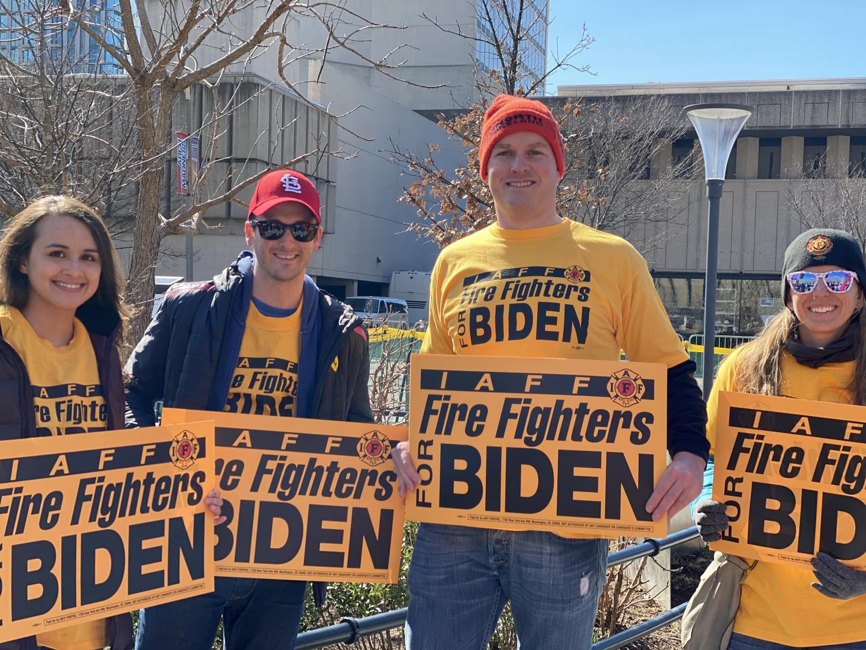 Lucas Andert – Fire fighters for Biden
