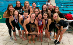 At the end of the Class 2 State Championship on February 22, the KHS Girls Swim team finished in second place, tying their school record for the best finish at State since 1974.