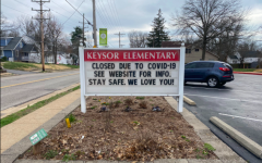 A fourth grade student at Keysor Elementary was diagnosed with COVID-19 on Friday, March 27.