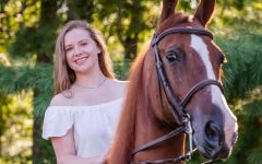 """All the difficult tasks of taking care of horses as well as riding them has definitely given me an everyday challenge,"" Anna said. ""Horses have taught me how to become a leader, gain responsibility, trust, dedication and much more."""