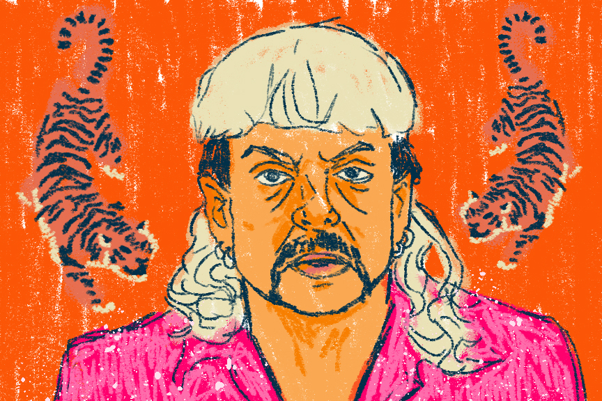 The Tiger King, more commonly know as Joe Exotic, was a big cat animal park owner prior to serving his 22-year prison sentence.