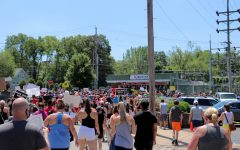 The peace walk was held by Kirkwood Teachers of Color.