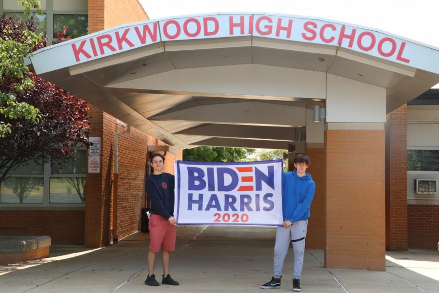 KHS students share the pros and cons of 2020 presidential candidates Joe Biden and Donald Trump.