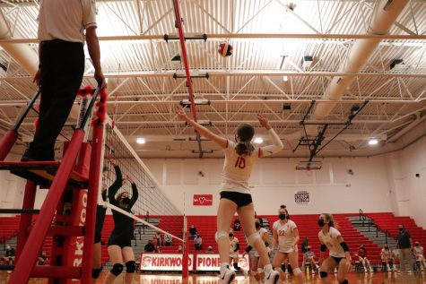 Photo Gallery: KHS girls JV volleyball vs Lindbergh High School Oct. 8