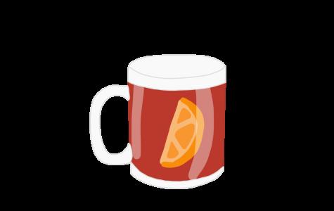 Cranberry orange cider