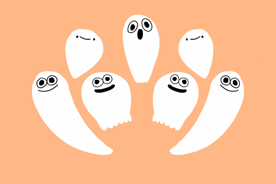 Don't let these smiling ghosts fool you, some of these movies are sure to give you a fright.
