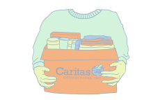 With a team of over 100 individuals, Caritas Connections is 100% volunteer operated.