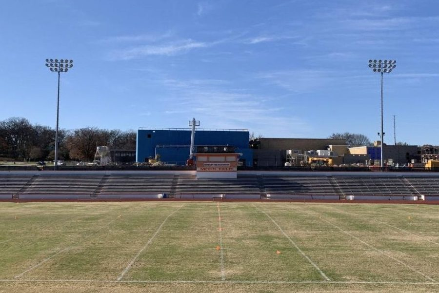 Webster Groves' Moss Field, where the 2020 Turkey Day game was scheduled to take place.