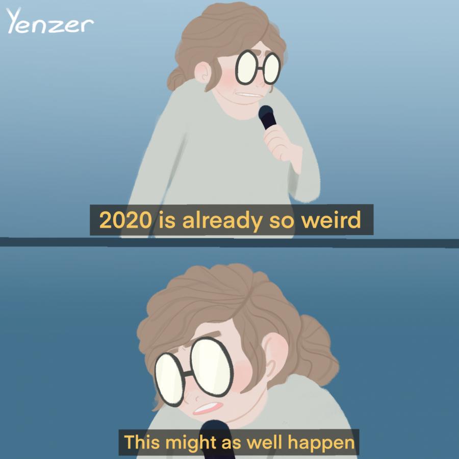 Elizabeth Yenzer's, artist, 2020.