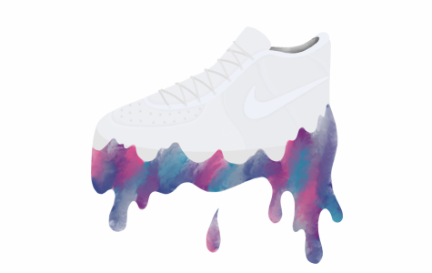 White Nike Air Force 1s