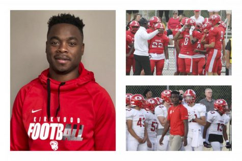Jeremy Maclin will become the next KHS varsity football head coach after two years as an assistant. Profile photo courtesy of KSD press release, action photos from 2019 by Hayden Davidson.