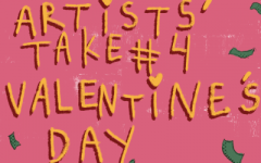 "At the start of each TKC cycle, the artists are given a prompt for Artists' Take. This cycle's prompt is ""Valentine's Day."