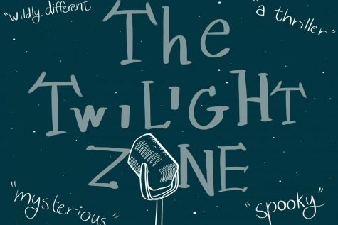 "When asked what words they would use to describe ""The Twilight Zone"", these are some that the castmates used."