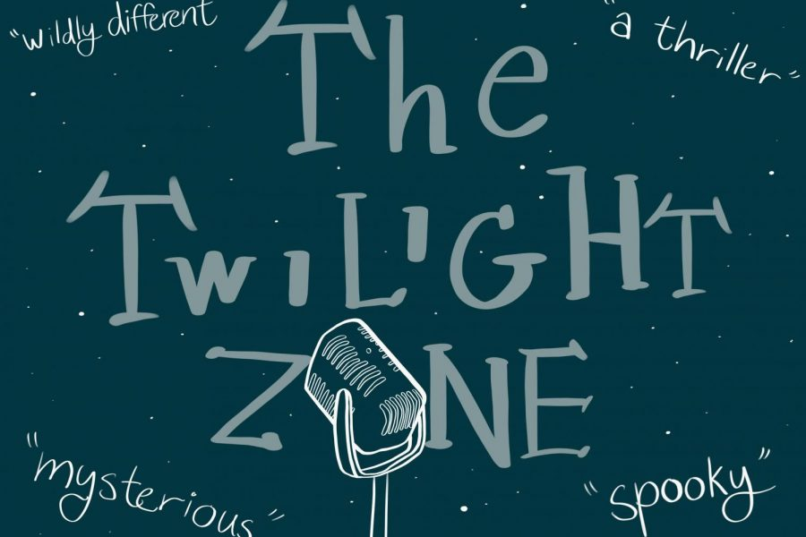 """When asked what words they would use to describe """"The Twilight Zone"""", these are some that the castmates used."""
