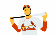 With Nolan Arenado now sporting the Birds on the Bat, St. Louis now has one of the best hitters in baseball to boost the batting lineup and probably the best defensive player in baseball to reinforce the team's defense. Art by Genevieve Francois.
