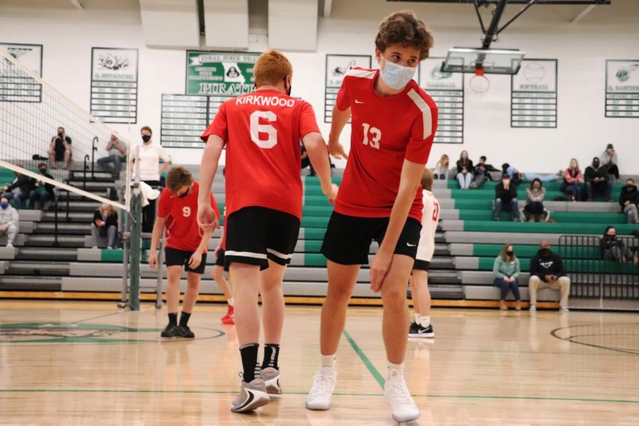 Photo gallery: Kirkwood boy's JV volleyball vs. Pattonville April 20, 2021