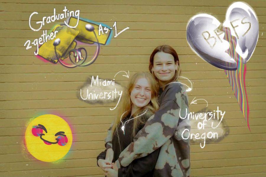 Senior profile: Lindsey Tomlin and Janie Lauberth