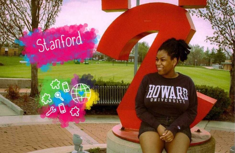 Art+by+Elena+Sherwood.+Amaya+Marion+is+attending+Stanford+University+in+the+fall%2C+where+she+will+be+majoring+in+international+relations.+