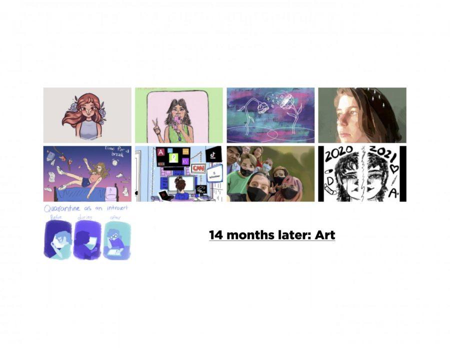 14 months later: Art