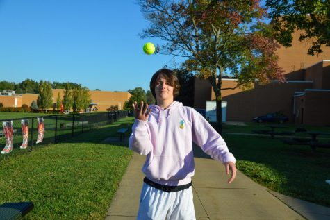 Woody Munson, junior,   works out at The Lodge Des Peres and plays tennis in his free time.